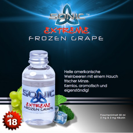 Sonic Extreme - Frozen Grape Liquid