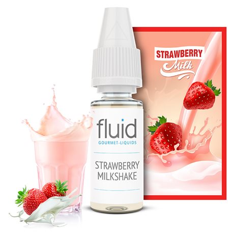 Strawberry Milkshake Liquid 50/50