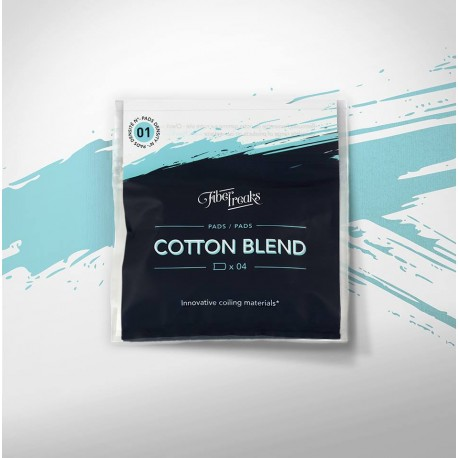 Fiber Freaks, Cotton Blend Pads, 01