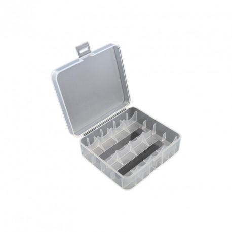 Aufbewahrungsbox für 2 x 26650 oder 4 x 18650 Li-Ion Akkus
