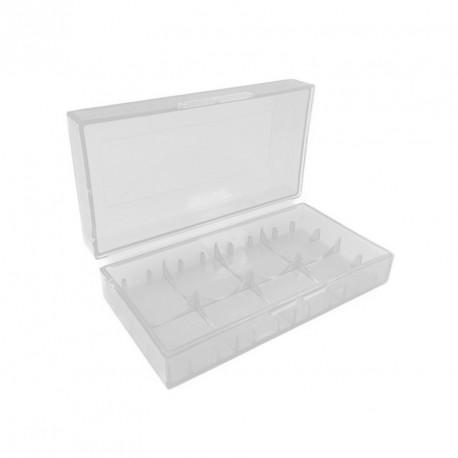 Aufbewahrungsbox für 2 x 18650 oder 4 x 18350 Li-Ion Akkus