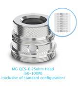 Joyetech Ultimo MG QCS Notch Coil 0,25 Ohm, 5 Stück