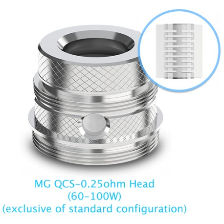 Joyetech Ultimo MG QCS Notch Coil 0,25 Ohm, 5 Stück
