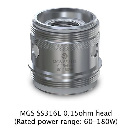Joyetech Ornate MGS SS316L Coil 0,15 Ohm, 5 Stück