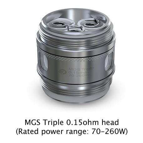 Joyetech Ornate MGS Triple Coil 0,15 Ohm, 5 Stück