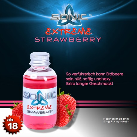 Sonic Extreme - Strawberry Liquid