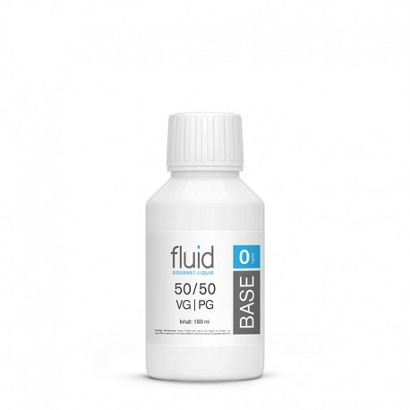 fluid Base 150 ml, 0 mg/ml, VPG 50-50