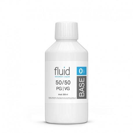 fluid Base 250 ml, 0 mg/ml, VPG 50-50