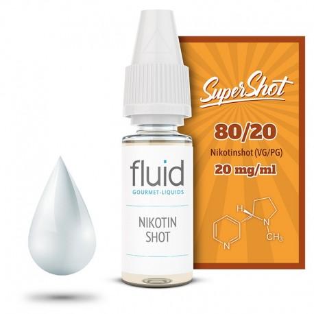 Base Shot 5er Pack, 80 / 20, 20 mg/ml