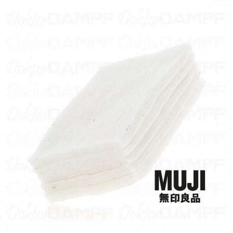 Muji Wattepads, ungebleicht